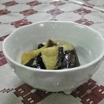 *【夕食一例】なす味噌