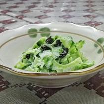 *【夕食一例】ゴーヤサラダ