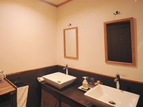 【洗面所】清潔第一を心掛けております。