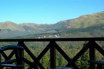 別荘のテラスからの眺め/一例