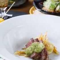 *お夕食一例/群馬の旬味を活かした美味多彩な食事をぜひご堪能下さい。