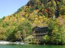 大正池ホテル(秋)