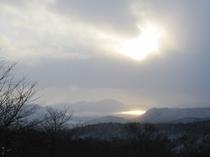 冬季 田沢湖