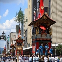 祇園祭(前祭、巡行7/17.・後祭、巡行7/24)