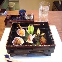 祇園「みずおか」お料理一例