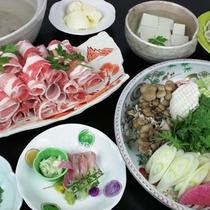 【1泊2食付】リーズナブルプラン(夕食:和食):和豚もち豚しゃぶしゃぶ