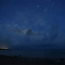 星明りの砂浜