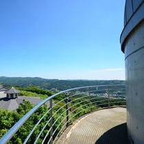 天球館からの景色
