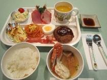 夕食の一例(お子様プレート)