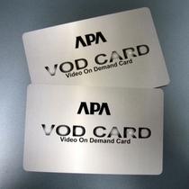 VODルームシアターカード