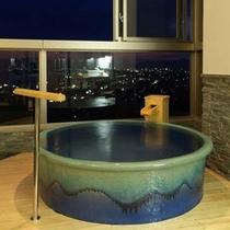 【温泉展望風呂付特別室】ツイン+8畳(トイレ付)陶器タイプ
