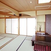 【和室二間】10畳+6畳(バス・トイレ付)