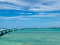 【宮古島景観:伊良部大橋】宮古島と伊良部島を結ぶ橋