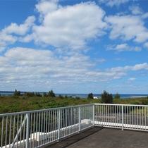 *屋上/伊良部島を見渡す屋上☆宮古島の風とオーシャンビューを堪能してください!