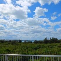 *屋上/夜はごろんと寝転んで、宮古島でしか見れない星空をお楽しみください。