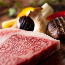 【料理】当宿自慢 和牛のステーキ