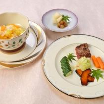 *【ペット夕食一例】ワンちゃん用グレードアップディナー