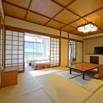 *【客室】和洋室・・・くつろぎタイムは畳で、でも寝る時はベッドでという方に!