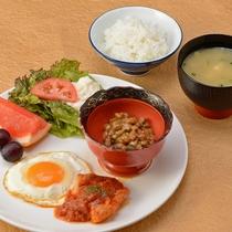 *【お子様朝食】働くママでもある女将もおすすめ!栄養満点朝ごはん。