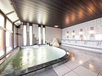 ジェット風呂が心地よい大浴場