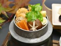 【秋の味覚会席】帆立釜飯