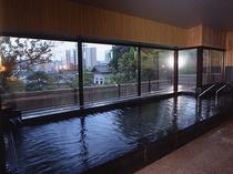 【翠山の湯】大浴場 自家源泉掛け流し