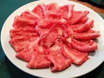 国産牛しゃぶしゃぶ又はすき焼きの食べ放題付プラン♪(食べ放題は飛騨牛ではございません)