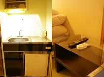 室内シンク/テーブル(ファミリー和室・ツイン)