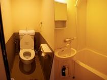 室内トイレ/シャワー(ファミリー和室・ツイン)