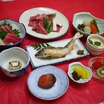 *【夕食全体例】高品質で希少性の高い太子町産のお米とともにご堪能ください。