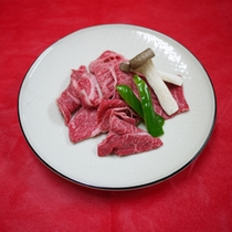 *【夕食一例】肉料理