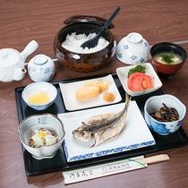 *【和朝食一例】ご飯にぴったりの旅館のご朝食をご用意いたします。