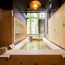 ◆リニューアル!檜風呂