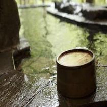 薬湯(びわの葉)露天風呂※イメージ
