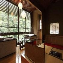 茶室付総ひのき造特別室