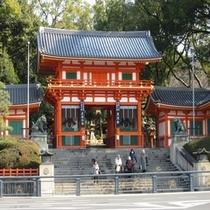 徒歩5分圏内の観光スポット‐ 八坂神社