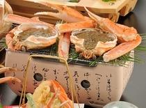 焼ガニ&味噌甲羅焼き