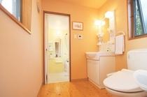 洋室のトイレ