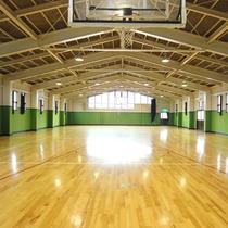 館内完備の体育館