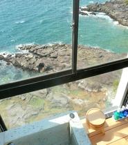 霧島展望風呂景観。