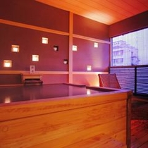 【貸切風呂】貸切風呂は40分2000円でご利用いただけます。