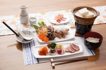 熱々!豆乳湯豆腐プラン(冬季限定)