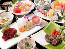 《 郷土料理会席料理ーイメージー 》