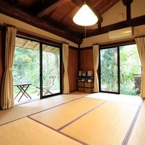 【コテージ仙庵】の和室