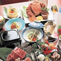 【料理イメージ】毛蟹つきプラン