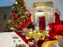 クリスマス(テーブルデコレーション)