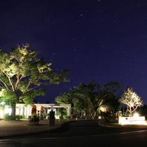 満点の星空を眺めながら夜のひと時をお楽しみください。