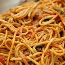 バイキング料理(一例)みんなが好きなスパゲッティ―