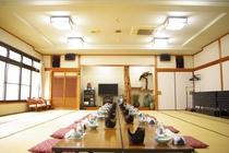 宴会場40畳×2部屋