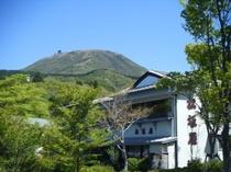 嶽影楼松坂屋と駒ケ岳
